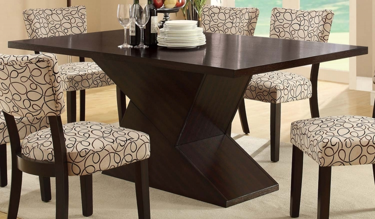 Libby Dining Table - Cappuccino