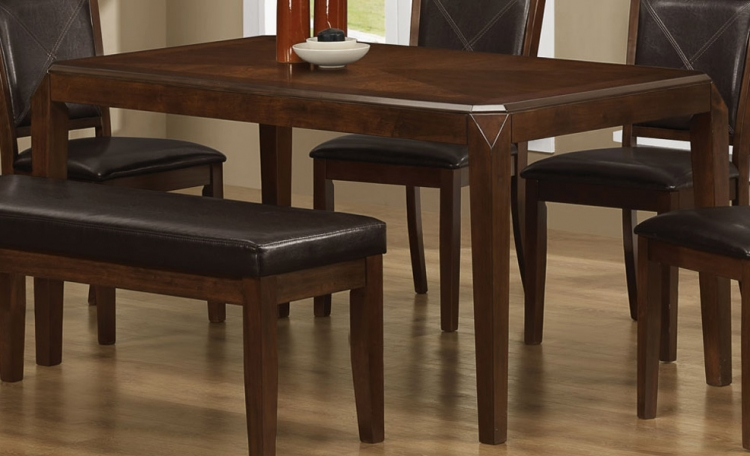 Davina Dining Table - Dark Oak