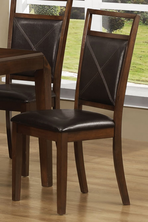 Davina Side Chair - Dark Oak