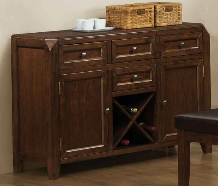 Davina Server - Dark Oak - Coaster
