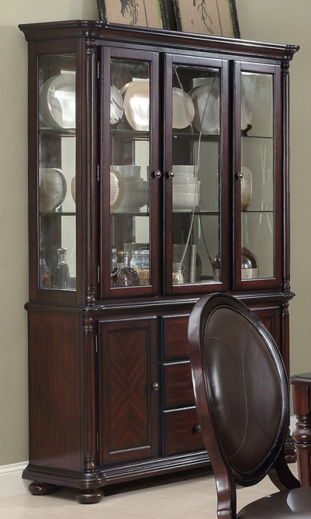 Davina Buffet and Hutch - Brown Cherry