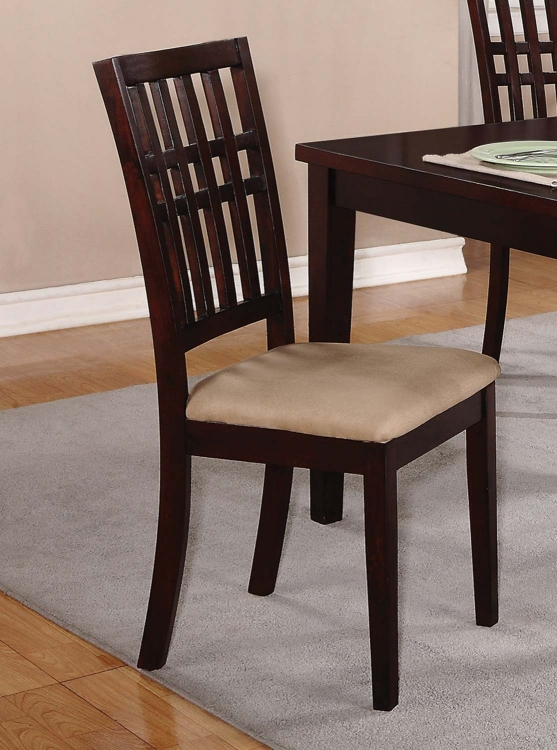 103341 Dining Chair - Dark Cherry