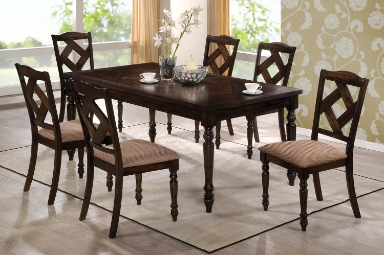 103381 Dining Set - Brown Ash - Coaster
