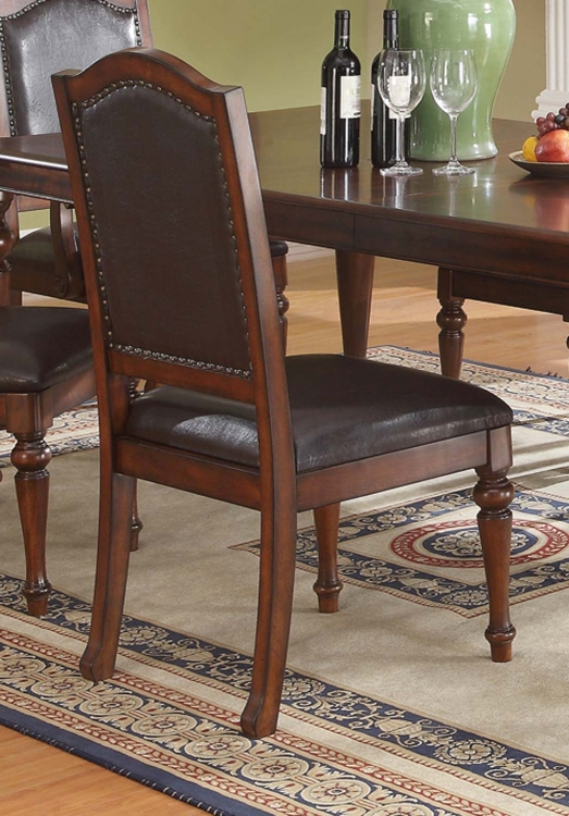 Anson Side Chair - Rich Brown