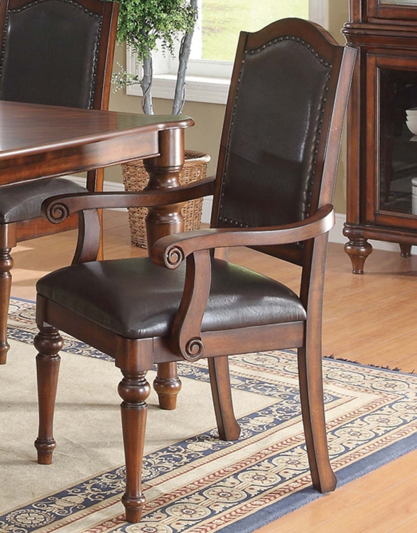 Anson Arm Chair - Rich Brown