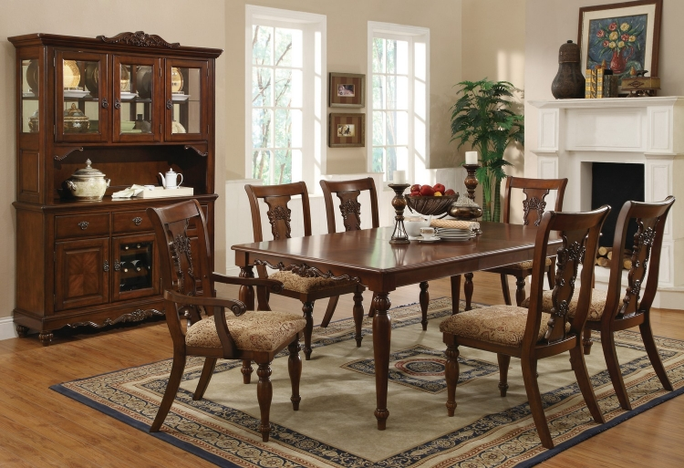 Addison Dining Set - Coffee