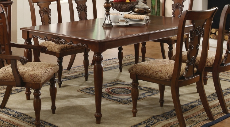 Addison Dining Table - Coffee