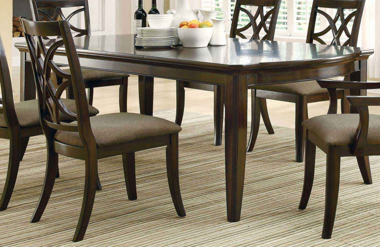 Meredith Dining Table - Espresso