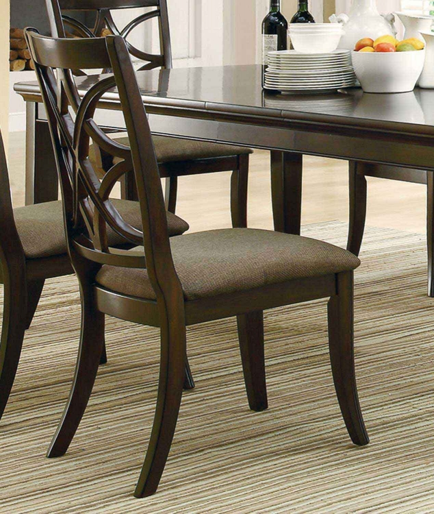 Meredith Side Chair - Espresso