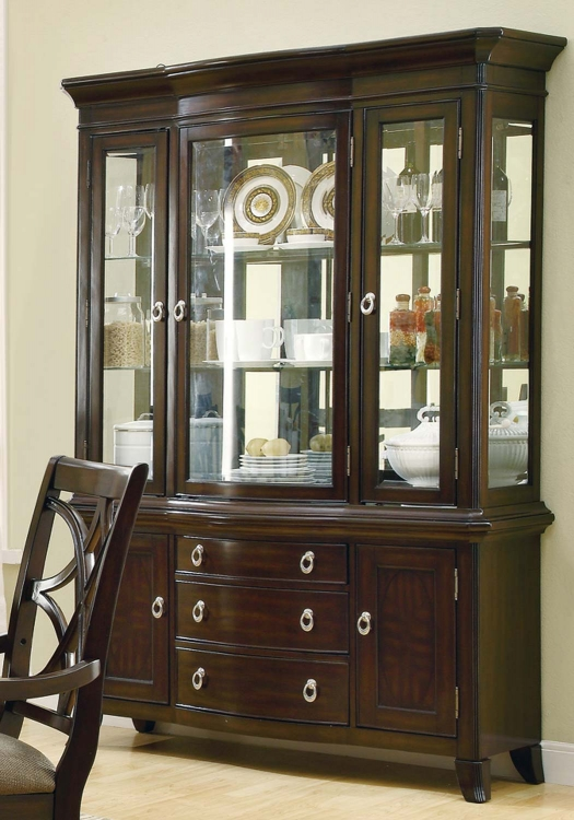 Meredith China Cabinet - Espresso