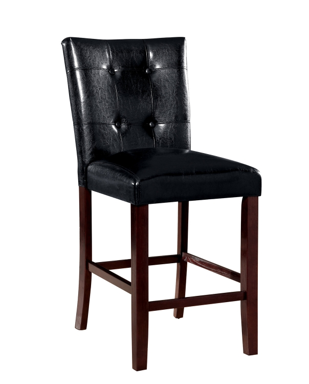 Ducey Counter Height Stool - Dark Brown