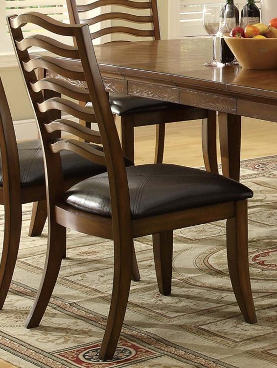 Avery Side Chair - Brown Oak