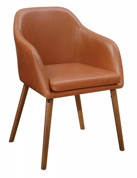 Jamestown Side Chair - Cognac