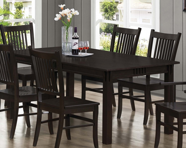 Marbrisa Dining Table - Cappuccino
