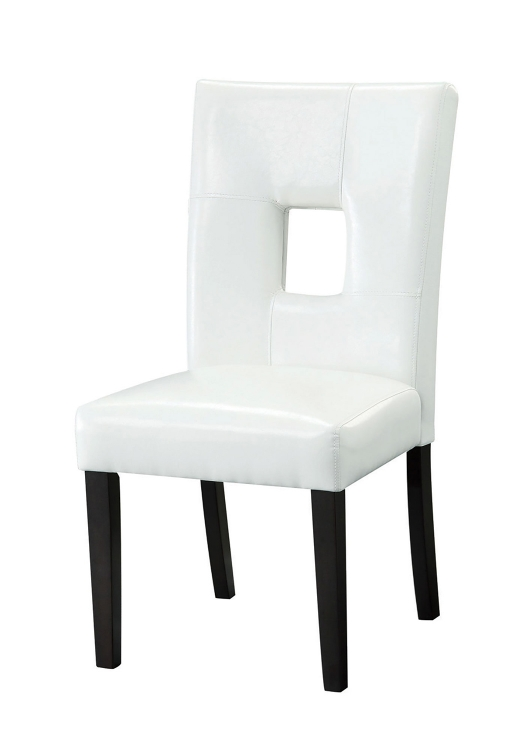 103612WHT Parson Side Chair - White