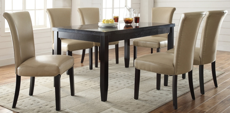 Newbridge Dining Set - Taupe Chair
