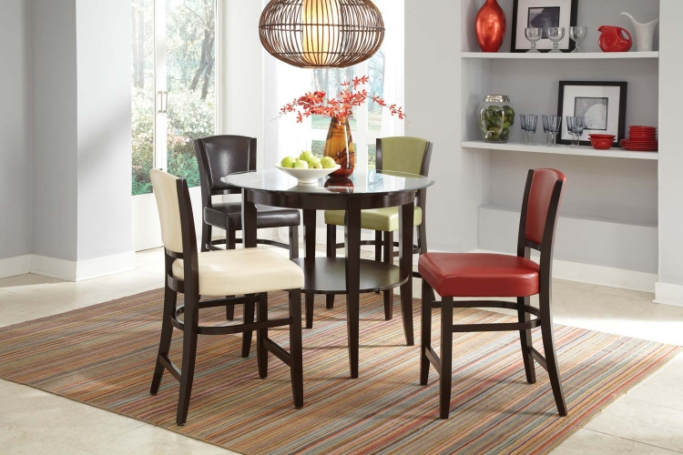 Mix & Match Counter Height Dining Set - Espresso - Coaster