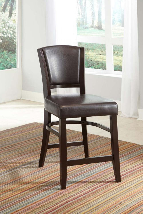 Mix & Match Counter Side Chair - Brown