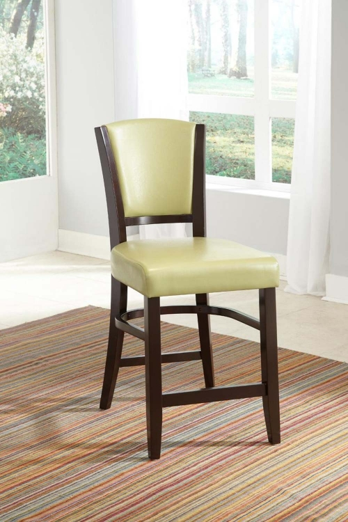 Mix & Match Counter Side Chair - Green