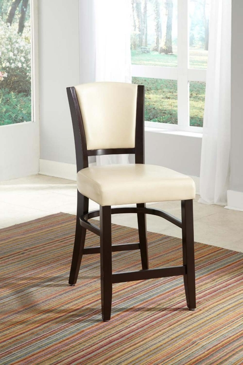 Mix & Match Counter Side Chair - Ivory