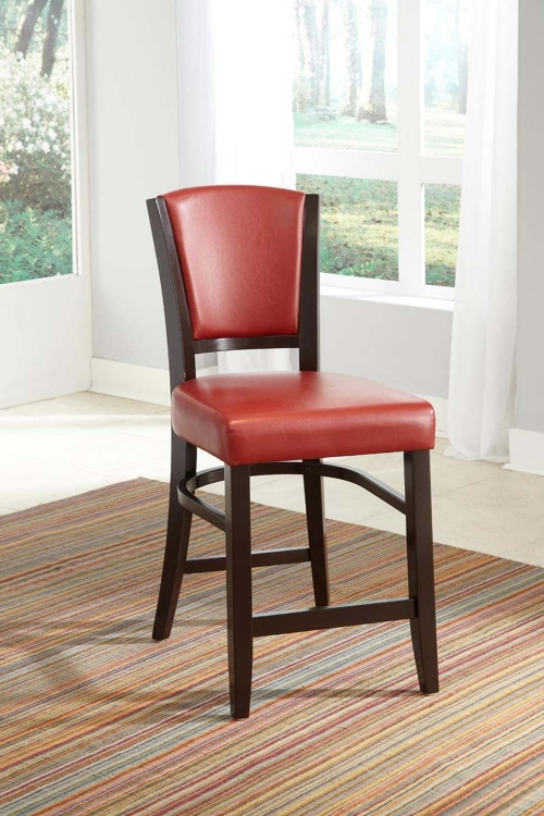 Mix & Match Counter Side Chair - Red