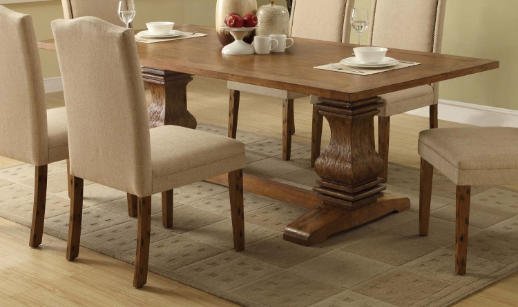 Parkins Dining Table - Coffee