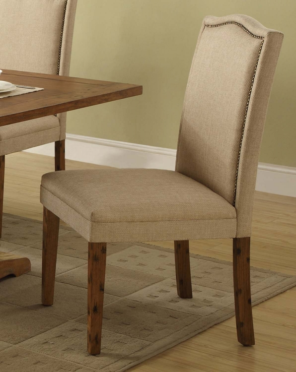 Parkins Parson Chair - Coffee