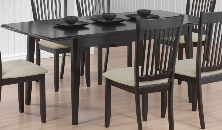 103721 Dining Table - Cappuccino