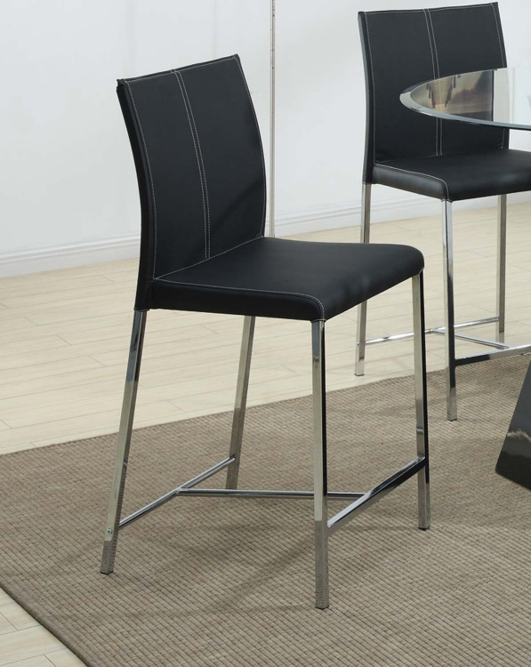 103736 Counter Height Chair - Black - Coaster