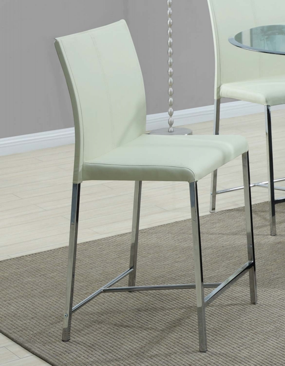 103736 Counter Height Chair - Cream