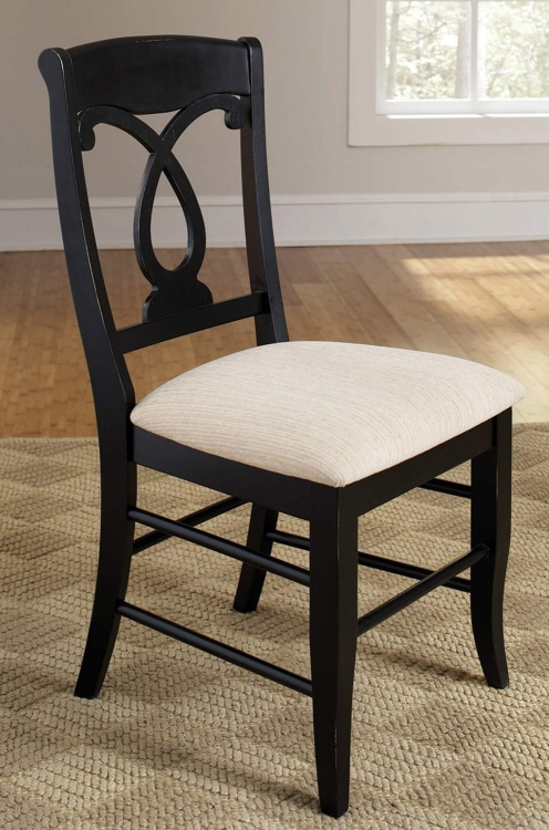 Holland Side Chair - Black