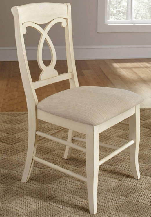 Holland Side Chair - Ivory