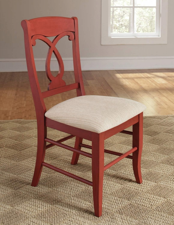 Holland Side Chair - Red