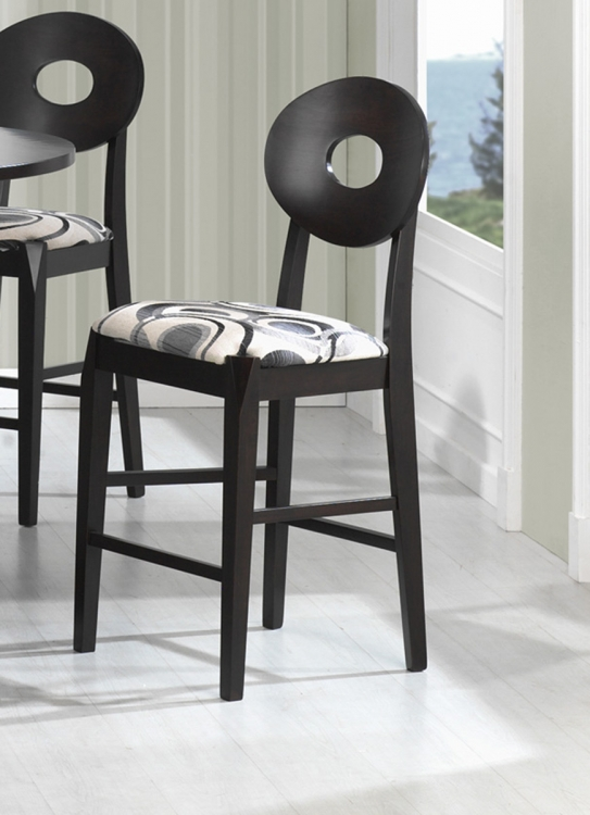 Gregory Counter Height Chair - Cappuccino