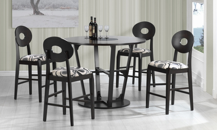 Gregory Counter Height Dining Set - Cappuccino
