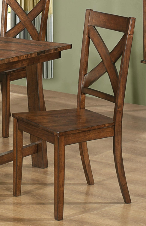 Lawson Chair - Rustic Oak