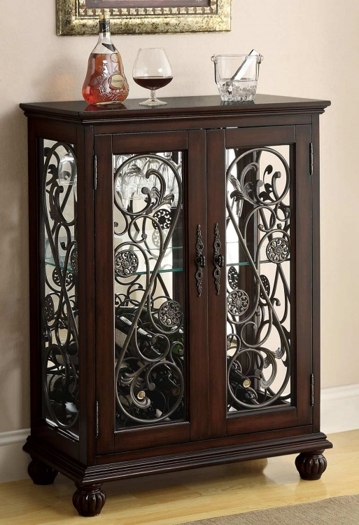 104023 Wine Rack - Brown