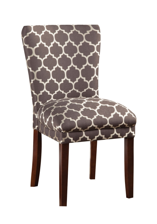 Parson Side Chair - Grey/Cream