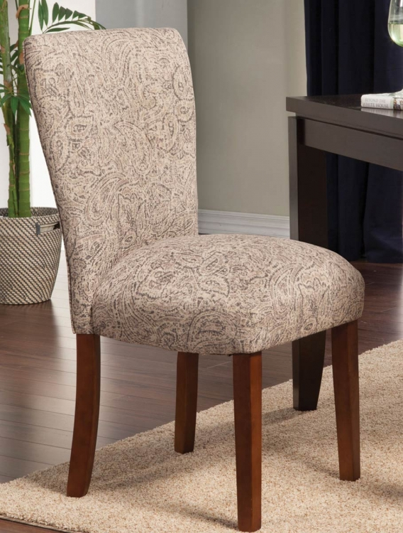 Parson Side Chair - Grey Pattern