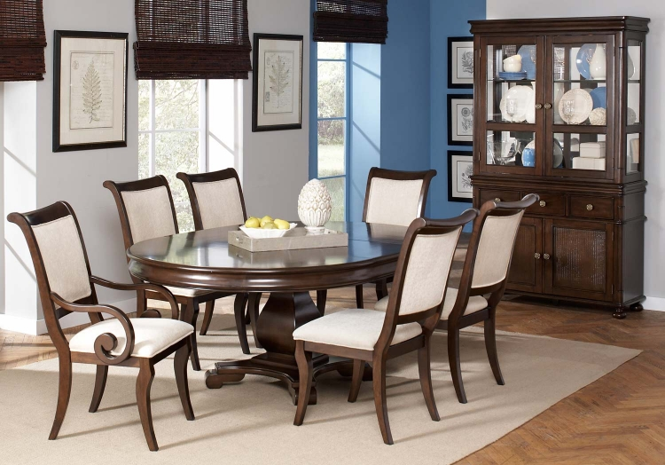 Harris Dining Set - Dark Cherry
