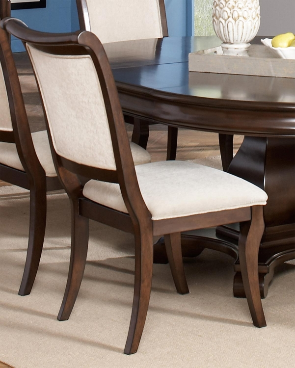 Harris Side Chair - Dark Cherry