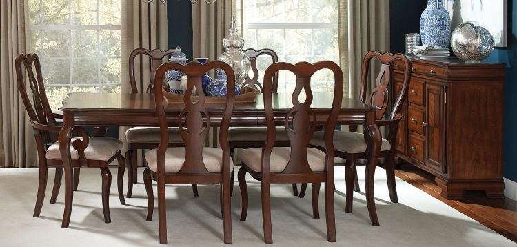 Beamont Dining Set - Merlot