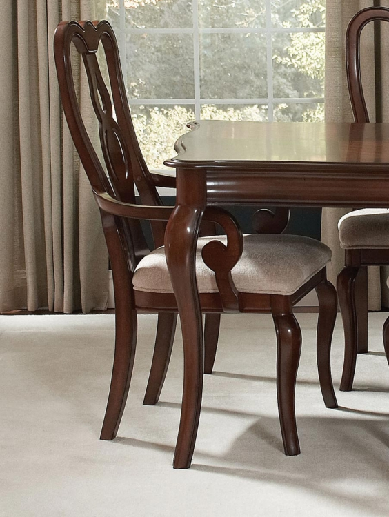 Beamont Arm Chair - Merlot