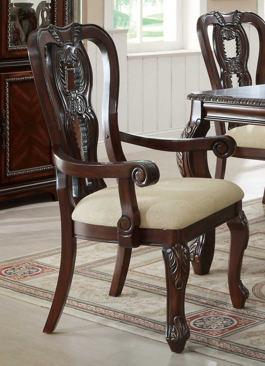 Alexander Arm Chair - Cherry