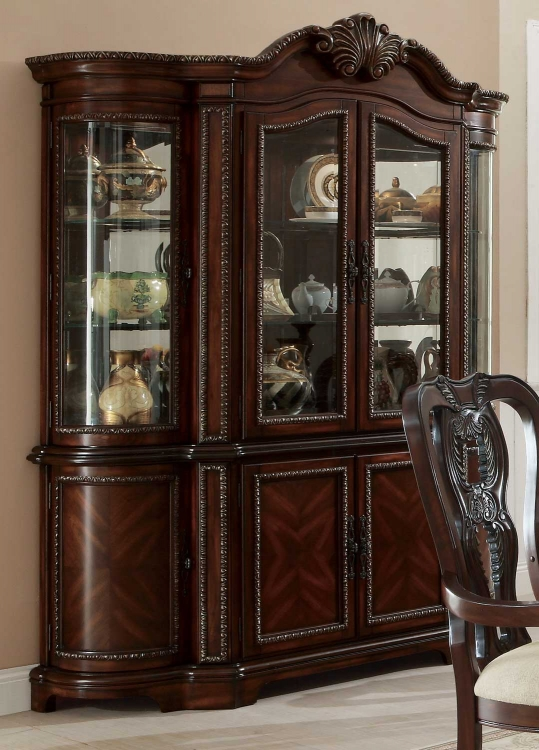 Alexander Buffet/Hutch - Cherry
