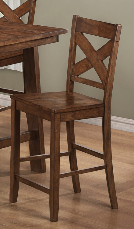 Lawson Counter Stool - Rustic Oak