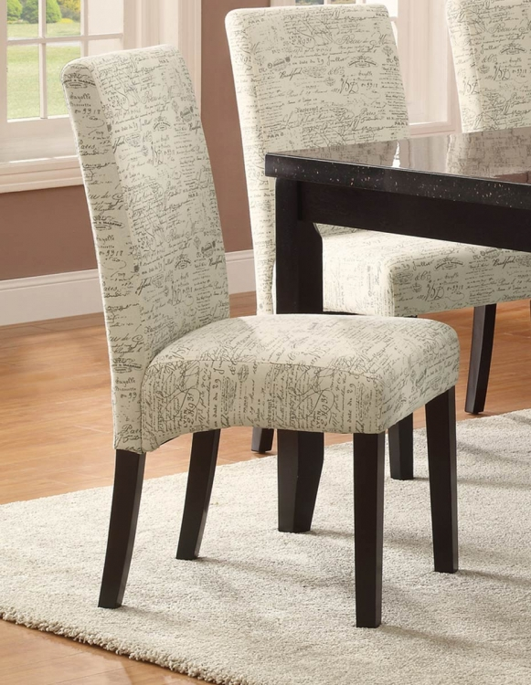 Newbridge Dining Chair - Script Pattern