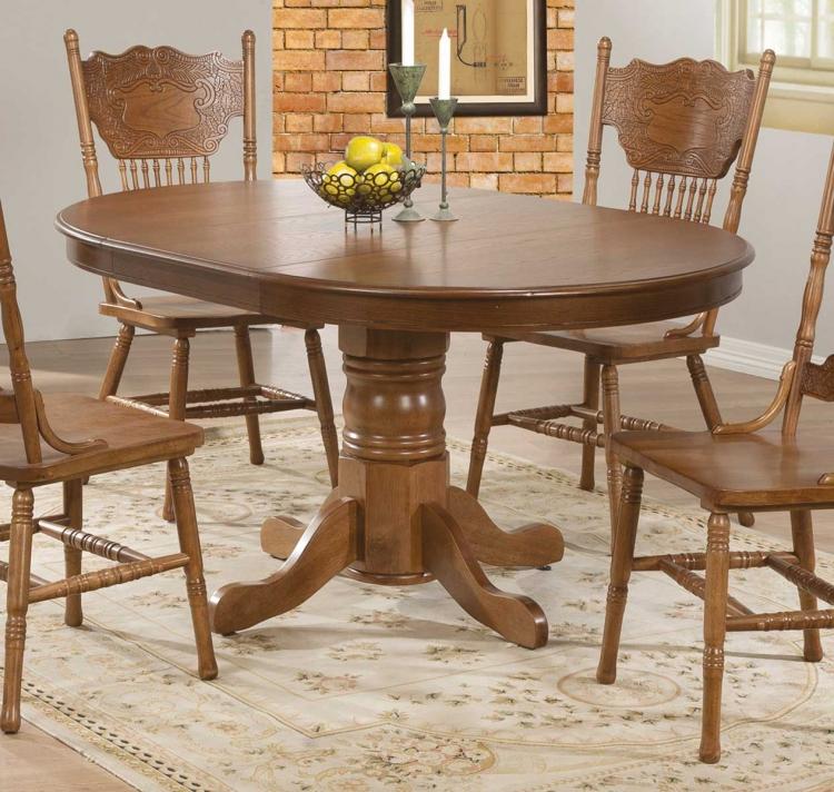 Brooks Dining Table - Oak