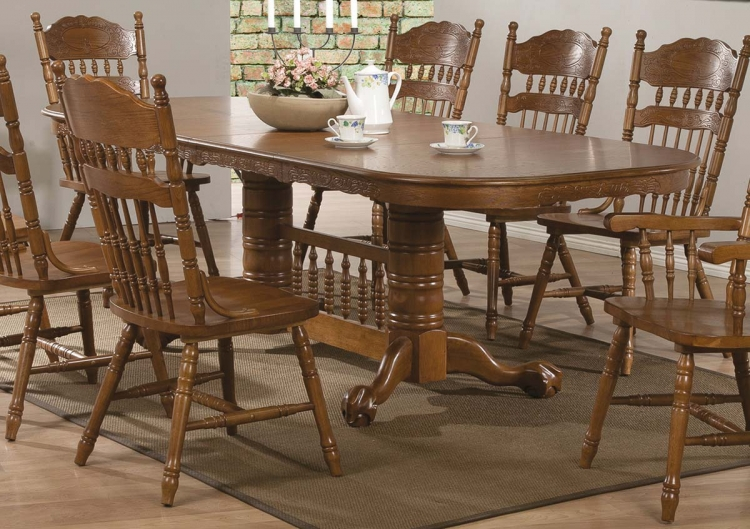 Brooks Dining Table - Oak