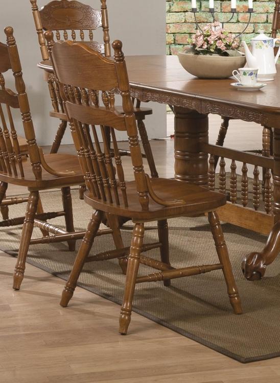Brooks Side Chair - Oak